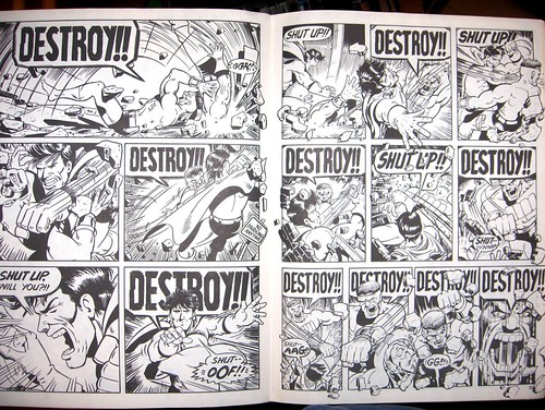 Two pages of DESTROY!!