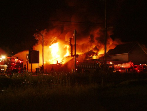 July 10,2008 Aumand's fire
