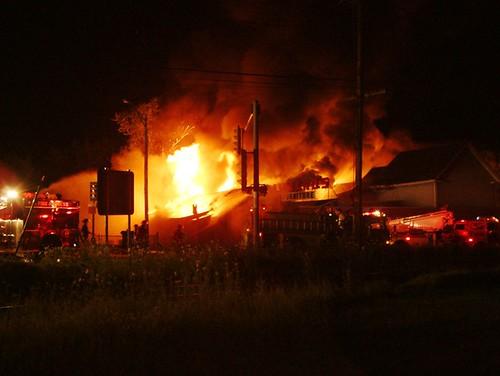 July 10,2008 Aumand's fire