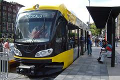 Prototipo de tranvía para la Ciudad de México