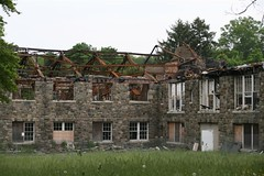 Stewart Hall post-fire