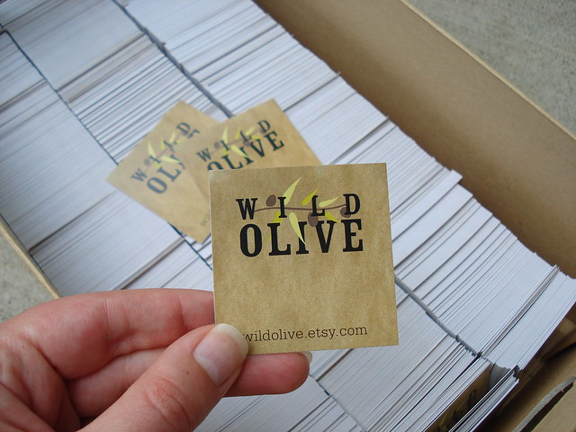 Wild Olive cards, tags, etc...