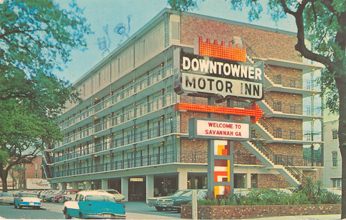Downtowner Motor Inn, Welcome to Savannah Ga.