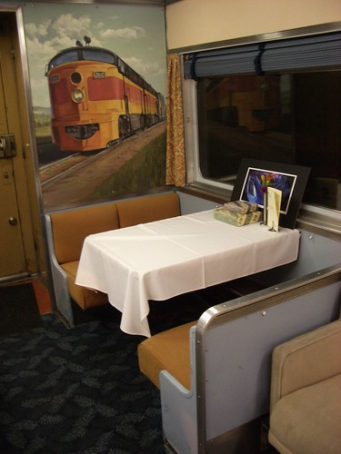 Private rail car for The City of Ember