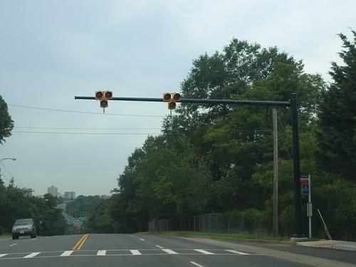 Weird traffic signal