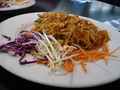 Chicken Pad Thai from Georges