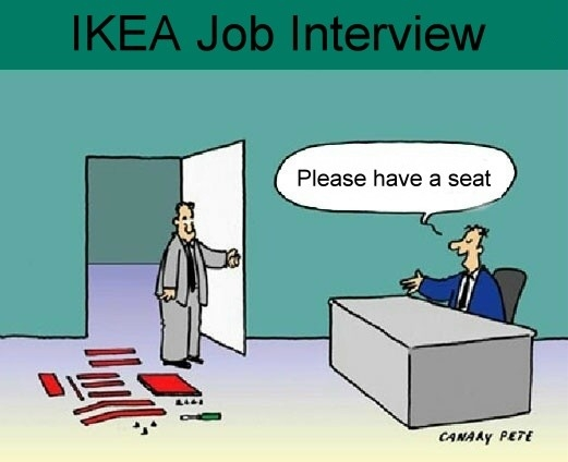 IKEA job interview joke