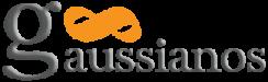 Logo con texto en relieve