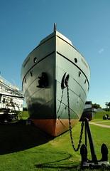 Bradbury (anniedaisybaby) Tags: history tourism manitoba tugboat selkirk interlake lakewinnipeg marinemuseum workingboats commercialboat