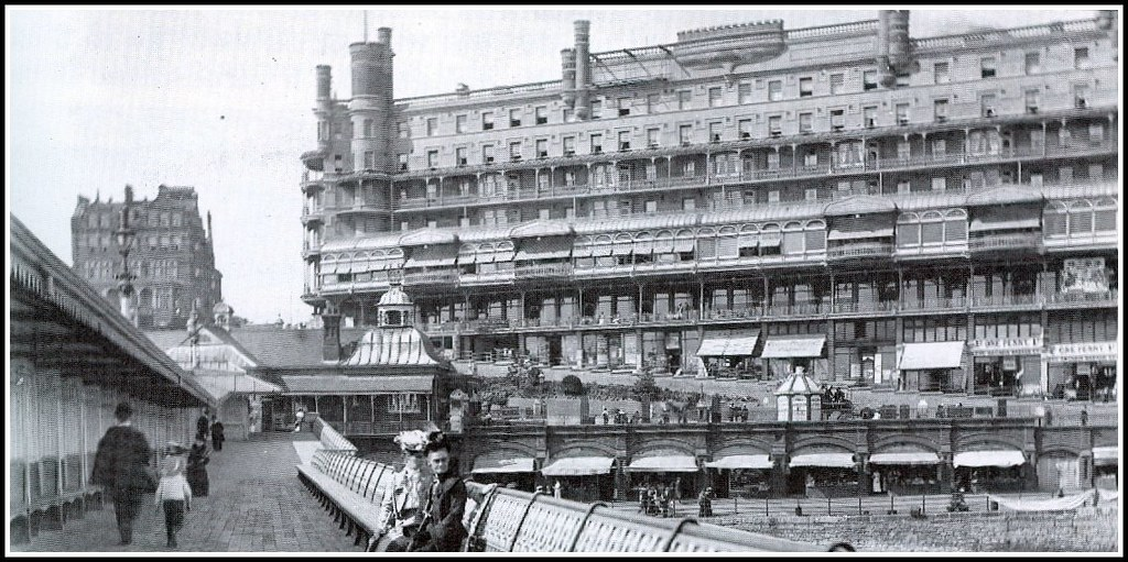 Southend on Sea, The Palace Hotel, June 1905.