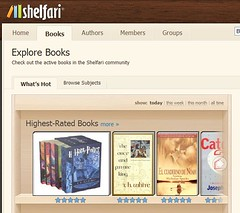 Shelfari's Engaging User Interface