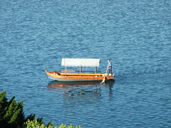 Pletna Boat on Lake Bled (Matt O'Regan) Tags: lake boat bled pletna