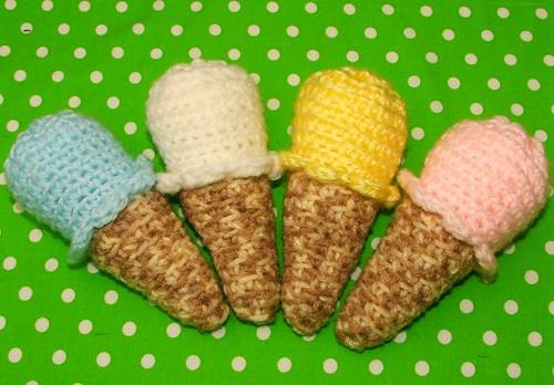 Ice Cream Cone Rattles