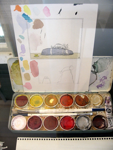 Edward Gorey's Water Color Set