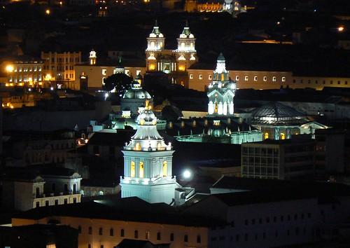 Quito a noite