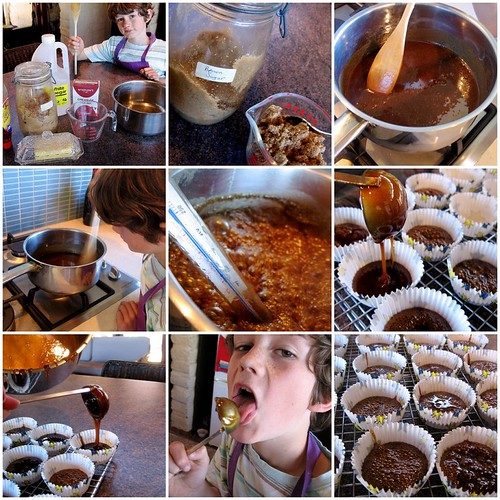 toffee making