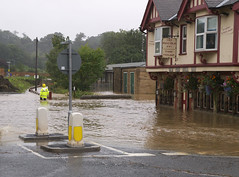 Morpeth Flood by johndal, on Flickr