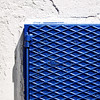 (Katerina.) Tags: blue white abstract texture metal wall pattern surface minimal walls minimalism twocolors 500x500 doordetail haphazart haphazartblue colourartaward bestminimalshot haphazartmetal haphazartcorners
