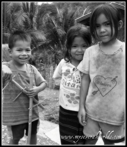 Lao Village Kids