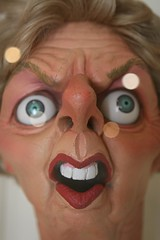 Spitting Image puppet of Maggie Thatcher (sorr...
