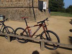 Trek 69er (LordOnOne) Tags: mountain beer bike bicycle wheel trek cycling ride mtb root 32 duc maverick 69er
