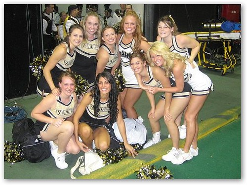 Idaho Vandals Cheerleaders