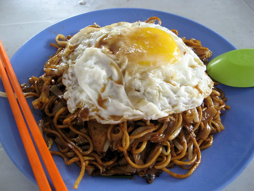 Chau Kuey Theow Mee + egg