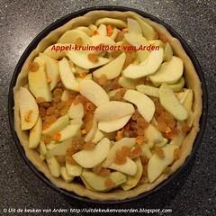 Appel-kruimeltaart van Arden