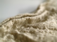 linen texture (Yorktown Road) Tags: texture beige soft natural linen pale textile fabric fold wrinkle day23 neutral ytr macro365