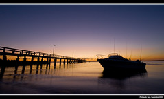 Fishing ([ Kane ]) Tags: fish water sunrise boats pier brisbane explore wharf qld kane wellingtonpoint gledhill 400d explore17 kanegledhill kanegledhillphotography