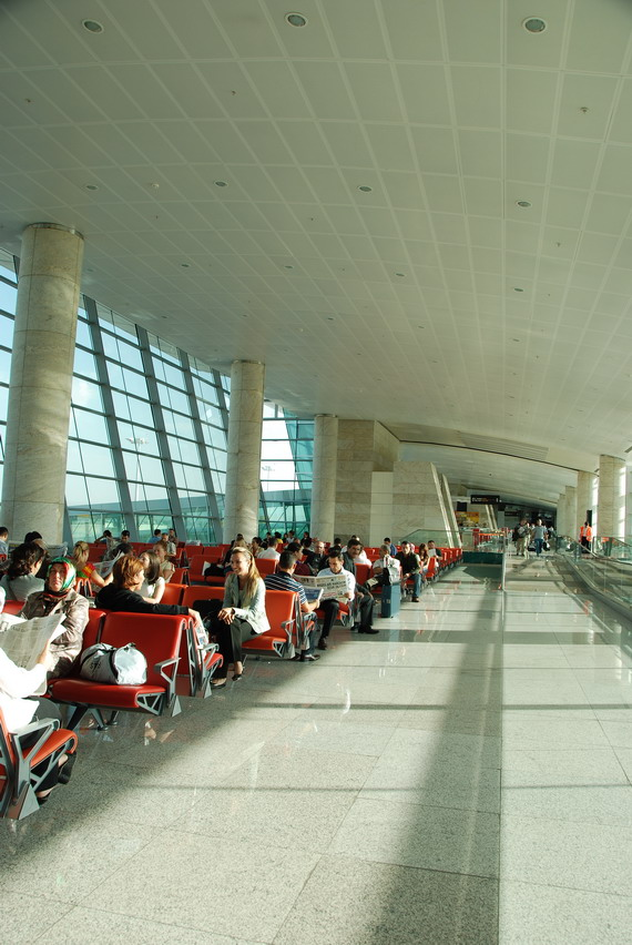 Ankara-Esenboger airport安卡拉機場