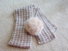 Waffles Scarf with Tribbles 1
