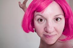 121:365 {i am me} ([mummalu]) Tags: pink selfportrait me girl hair happy pretty sp wig tuesday day121 nightynight 365days hppt 300908 ortomuchofanythingreally soithinkimgoingtocallitanight myinternetkeepcrappingoutallthetimeanditistakingmeagestouploadphotos