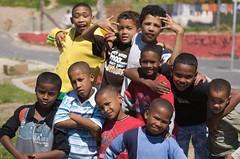 African Trampoline crew