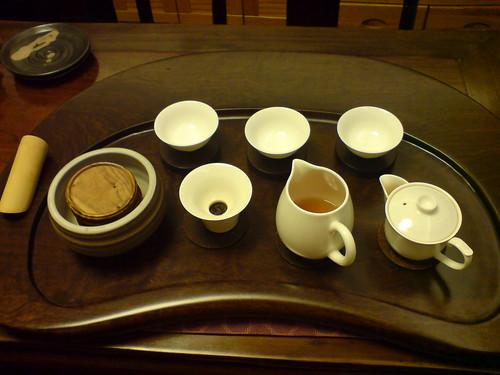 你拍攝的 老爸作品-茶盤。