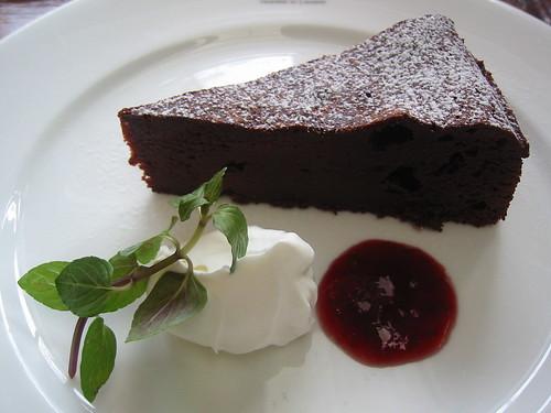 Gateau Chocolat - NASU SHOZO CAFE