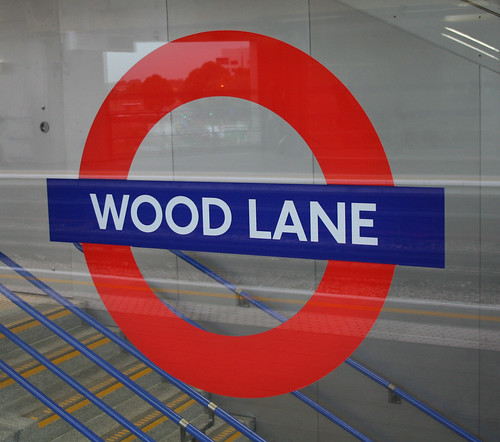 Wood Lane Underground station by Bowroaduk