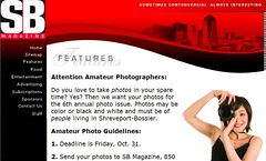 SB Magazine Amateur Photographers Contest