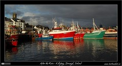After the Rain in Killybegs Harbour (bbusschots) Tags: ireland sea storm clouds port boat fishing ship harbour 1001nights donegal ulster killybegs