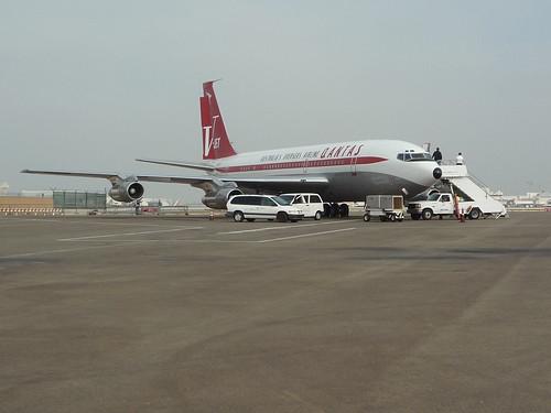 John Travolta S Beautiful 707 Cranky Flier