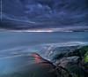 Porkkala seascape (Vertorama) (Rob Orthen) Tags: longexposure sea sky rock suomi finland landscape still nikon europe kallio scenic rob tokina nd scandinavia meri maisema vesi syksy verticalpanorama pinta d300 kirkkonummi 1116 porkkala orthen vertorama roborthenphotography tokina1116 tokina1116mm28 seafinland
