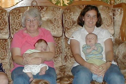 Grandma, Valerie, Jenn, Andrew