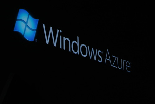 Windows Azure Announced at PDC by D.Begley, on Flickr