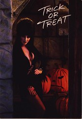 Elvira's Halloween card from 1988