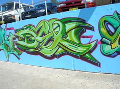 Dex Bondi Beach Australia (Dex TNB KD TDS) Tags: graffiti dex