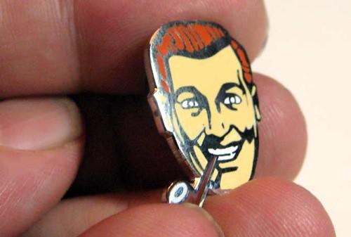 """""""Bob"""" Cloisonne Pin"""