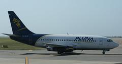 CX-BOP. Pluna @ Montevideo (Javier Ortega Figueiral) Tags: uruguay airport montevideo carrasco aeropuerto