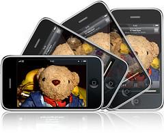 iPhone 加速度センサー