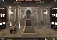 SLSC Twelfth Night Act 1 Scene 1 Set Front view