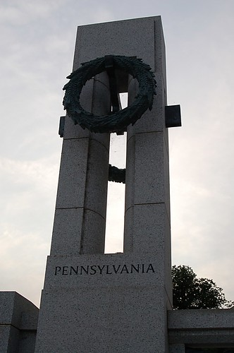 WW II Memorial:  Pennsylvania